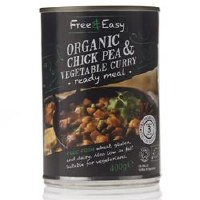 Free Natural Chick Pea & Vegetable Curry 400g