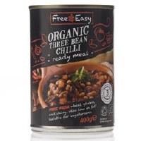 Free Natural Three Bean Chilli 400g