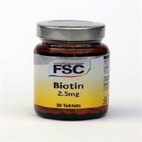FSC Biotin 2.5mg 30 tablet