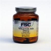 FSC Niacinamide 500mg (Vitamin B3) 60vegicaps
