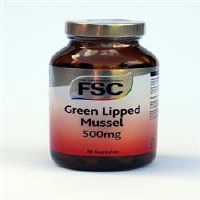 FSC Green Lipped Mussel 500mg 90 capsule