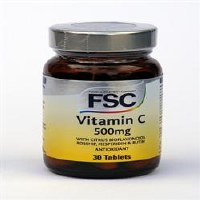 FSC Vitamin C (Low Acid) 500mg 30 tablet