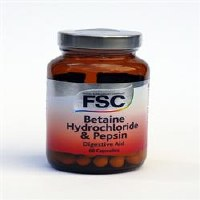 FSC Betaine Hydrochloride 60 capsule