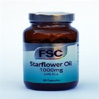 FSC Starflower Oil 1000mg 60 capsule