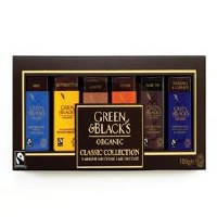 Green & Blacks The Classic Miniature Bar coll 180g