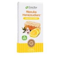GreenBay Harvest Lemon Manuka Honey 8 lozenges