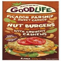 Goodlife Parsnip Carrot & Nut Burger 320g