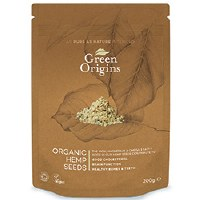 Green Origins Org Shelled Hemp Seeds (Raw) 100g