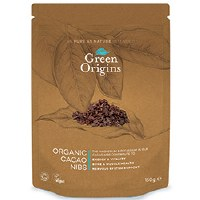 Green Origins Organic Cacao Nibs (Raw) 90g