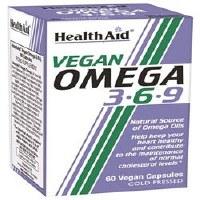 HealthAid Vegan Omega 3.6.9 60 capsule