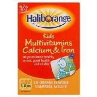 Haliborange Multivitamins Calcium & Iron 30 tablet