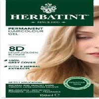 Herbatint LightGolden Blonde Hair Col 8D 150ml