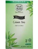 Heath And Heather Organic Green Tea 50bag