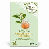 Heath And Heather Org Green Tea & Manuka Honey 20bag