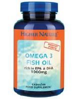 Higher Nature Fish Oil Omega 3 1000mg 180 capsule