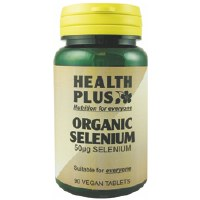 Health Plus Organic Selenium 50ug 90 tablet