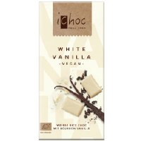 iChoc White Vanilla Chocolate vegan 80g