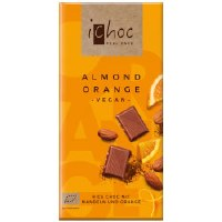 iChoc Almond Orange - Rice Choc 80g