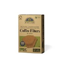 If You Care Coffee Filters No.4 Unbleached 100filters