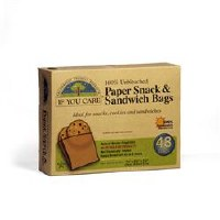 If You Care Sandwich Bags 48bag