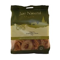 Just Natural Organic Org Apple Rings 250g