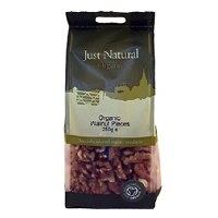 Just Natural Organic Org Walnut Pieces 250g
