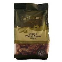 Just Natural Organic Org Walnut Pieces 125g