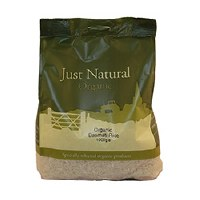 Just Natural Organic Org Basmati White Rice 1000g