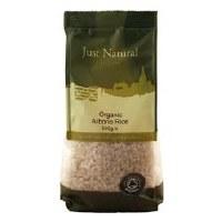 Just Natural Organic Org Arborio Rice 500g