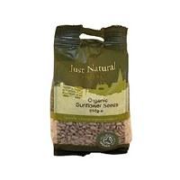Just Natural Organic Org Sunflower Seeds 250g