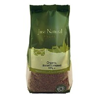 Just Natural Organic Org Brown Linseed 500g