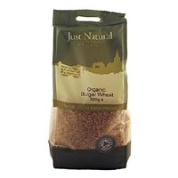 Just Natural Organic Org Bulgar Wheat 500g