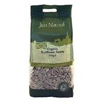 Just Natural Organic Org Sunflower Seeds 500g