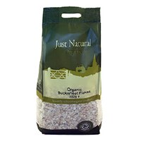 Just Natural Organic Org Buckwheat Flakes 350g