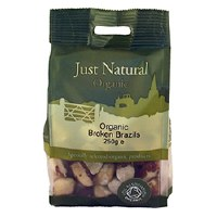 Just Natural Organic Org Brazils Broken 250g