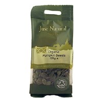 Just Natural Organic Org Pumpkin Seeds 125g