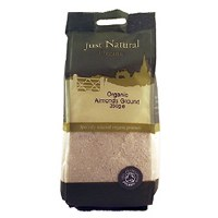 Just Natural Organic Org Almonds Ground 350g