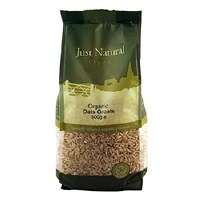 Just Natural Organic Org Oats Groats 500g