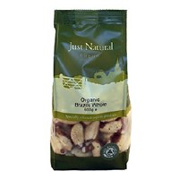 Just Natural Organic Org Brazils Whole 500g