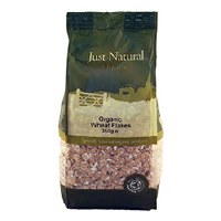 Just Natural Organic Org Wheat Flakes 350g