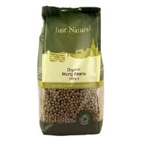 Just Natural Organic Org Mung Beans 500g