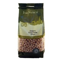 Just Natural Organic Org Chickpeas 500g