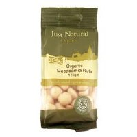 Just Natural Organic Org Macadamia Nuts 125g