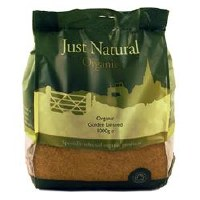 Just Natural Organic Org Golden Linseed 1000g