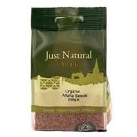 Just Natural Organic Org Alfalfa Seeds 250g