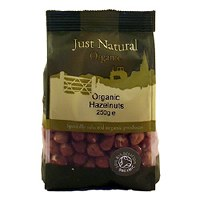 Just Natural Organic Org Hazelnuts 250g