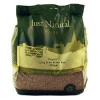 Just Natural Organic Org Long Grain Brown Rice 1000g