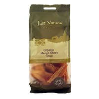 Just Natural Organic Org Mango Slices 125g