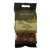 Just Natural Organic Org Pecan Halves 125g