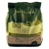 Just Natural Organic Org Porridge Oats 1000g